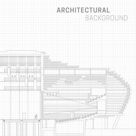 Architectural background Illustration