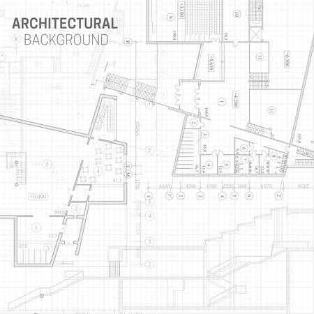 Architectural background Ilustração