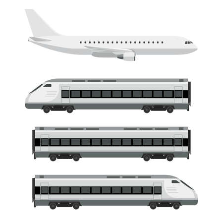 Passenger transport Vector Illustration