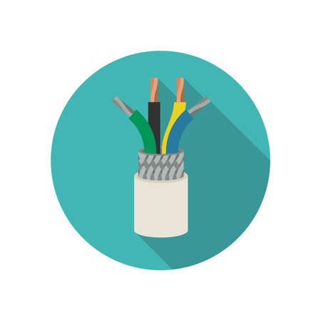 wires: Electrical cable icon.