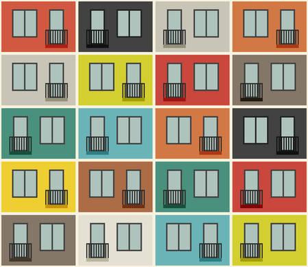 Building facade pattern