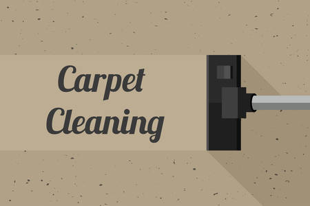 dirty room: Carpet cleaning banner