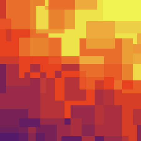 Color background with rectangular blocks. Absctract template.
