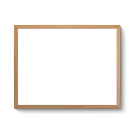 Realistic photo frame Illustration