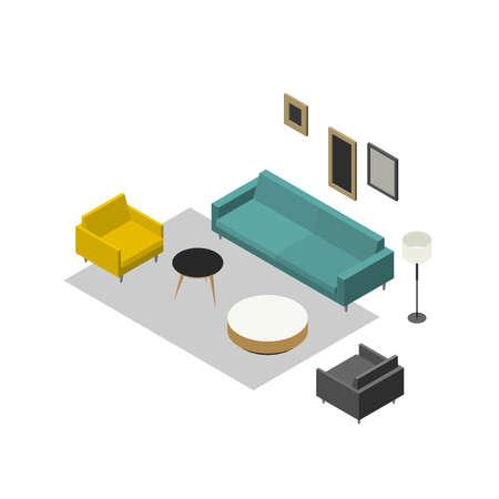 Lounge zone furniture