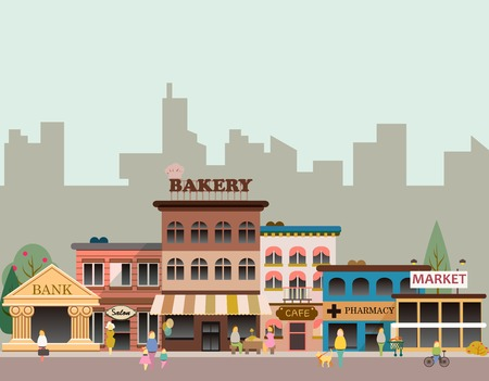 Buildings of small business