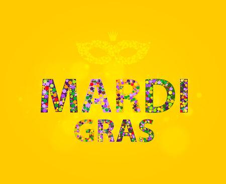 mardi gras background: Mardi Gras Background Celebration Carnival Illustration