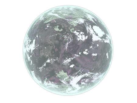 sonne mond und sterne: Mond auf wei�em Hintergrund. Von mir in Photoshope.