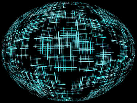 A Cyber feel background for graphic design use. Stock Photo - 2856520