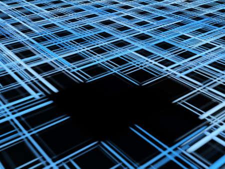 diminishing perspective: Illustration:  Stock Photo