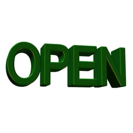 Open. photo