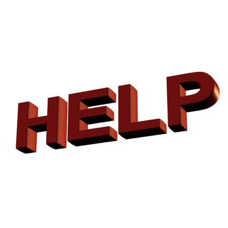 Help. Stock Photo - 3350600
