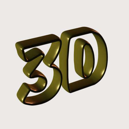 sentence typescript: Gold 3D