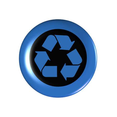 Recycle symbol. Stock Photo - 3379389