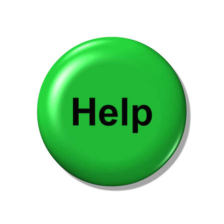 The button help. photo