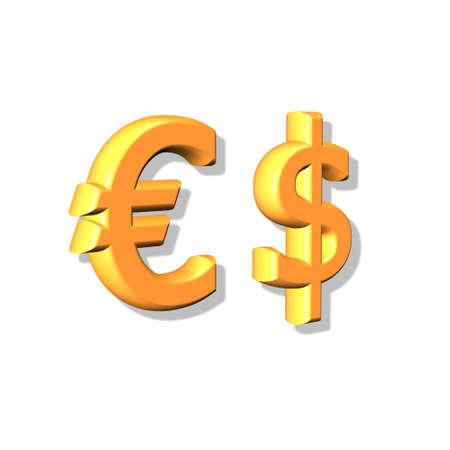 parity: Dollar & Euro.