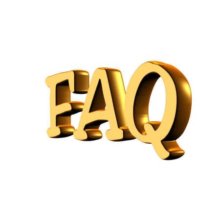recently: F.A.Q