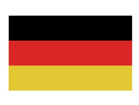 German  flag. Stock Photo