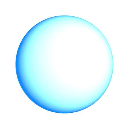 water molecule: Esfera.