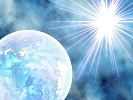 earthlike: Ice planet .