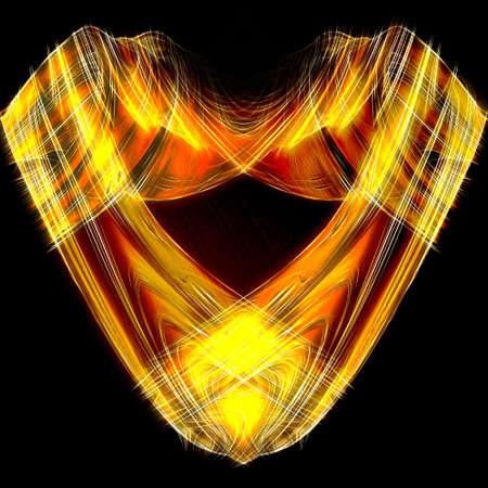 Elegant design heart. Stock Photo - 3438948