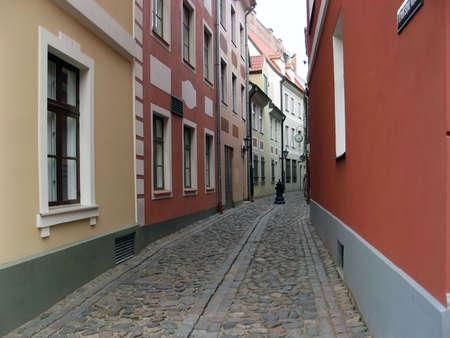 Streets of Riga. Stock Photo - 3585863