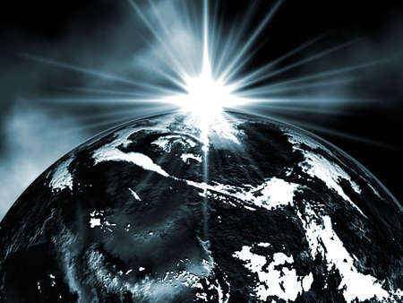 earthlike: Space Stock Photo
