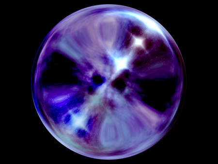 Crystal ball. photo