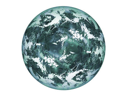 Blue planet. photo
