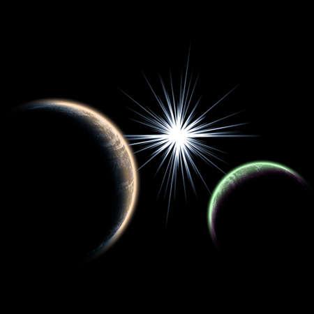 Planet.  photo