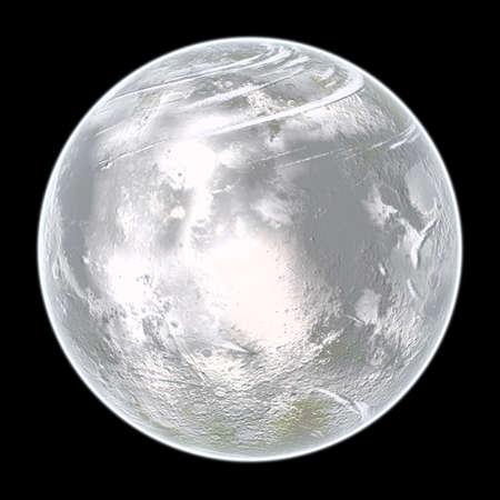Ice planet. photo
