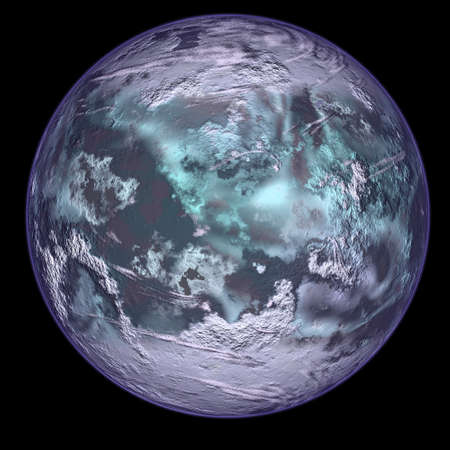 Ice planet. Stock Photo - 4444049