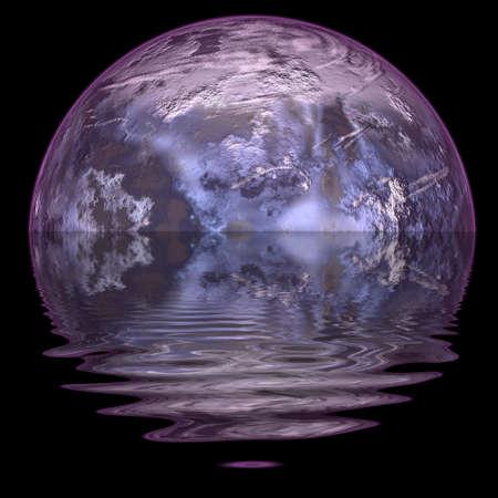 Ice planet. Stock Photo - 4542560