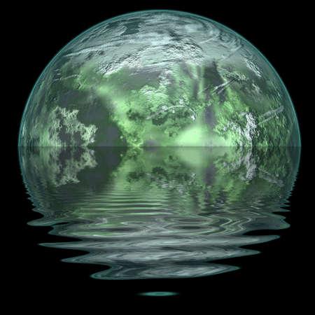 Ice planet. Stock Photo - 4542553