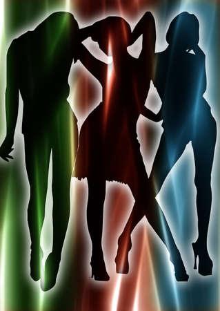 Dancing woman. Stock Photo - 4687031