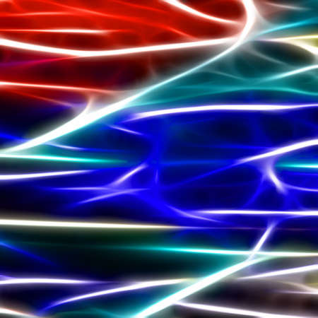 3d lightning: Abstract, digital background.