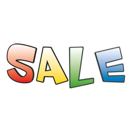 Sale. Illustration