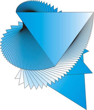Abstract vector icon. Stock Vector - 6056877