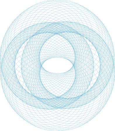 Three-dimensional Abstract vector.