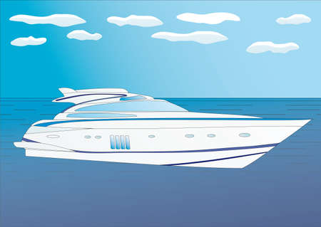 Yacht Illustration