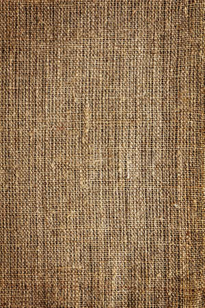 Burlap sack background Stock Photo