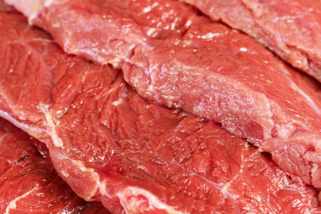 Meat texture close-up Stok Fotoğraf