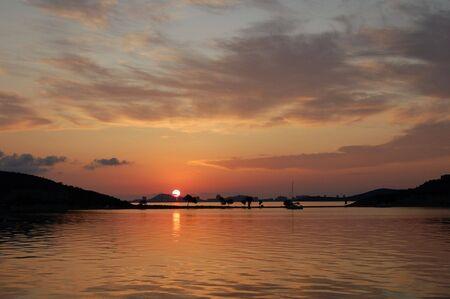Sunrise over Mar Menor, Spain