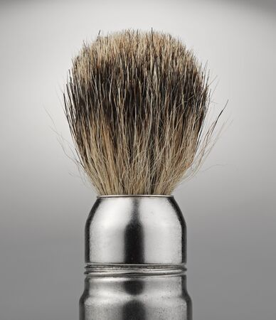 antique shaving brush  photo