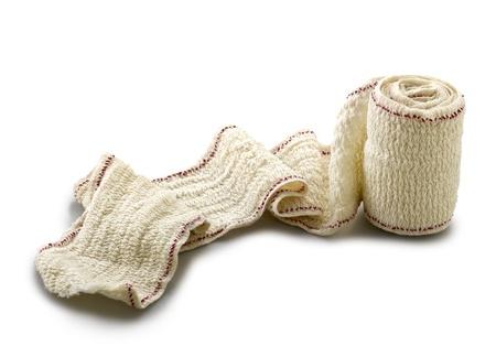 Bandage isoliert auf weißem Hintergrund