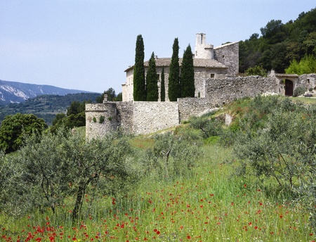 Haus in der Provence, Südfrankreich Lizenzfreie Bilder