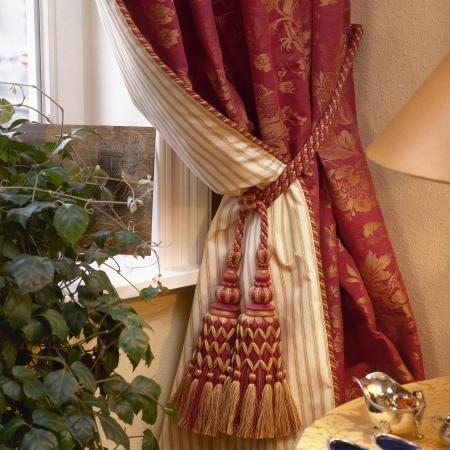 Elegant curtain and window Stock Photo - 15847501