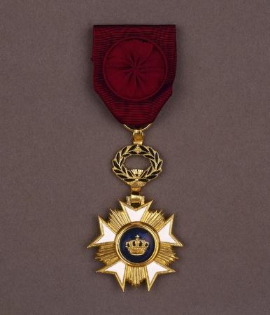 medal on vintage backgroun Stock Photo - 16235387