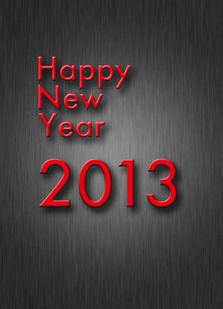 creative happy new year 2013 design Stock Photo - 16842192