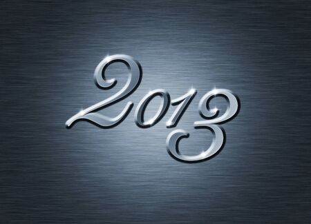 creative  new year 2013 design